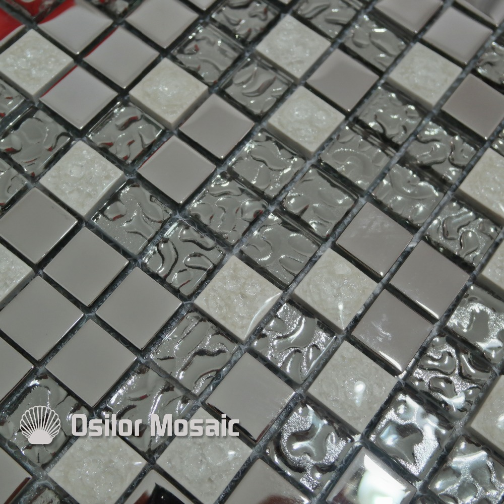 Online kopen wholesale wit glas tegel uit china wit glas tegel ...