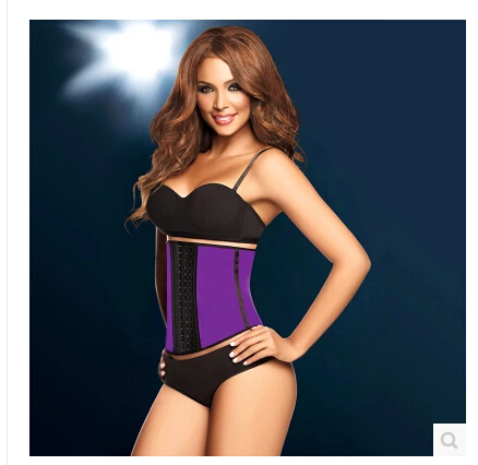 2016 Deportive Latex Waist Cincher Trainer Shapwear Hot Body Shaper Fast Weight Loss Girdle Slimming Belts Waist Trainner Corset