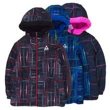 Winter new lamb cashmere padded cotton padded coat on both sides wearing jacket boy girl coat цена и фото