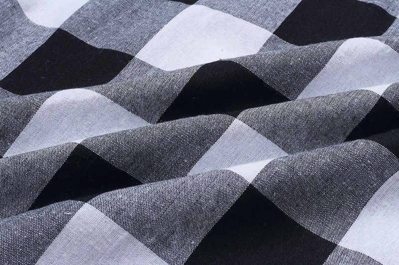 3bd4cb39b5e9a casual o-neck long sleeve checkered dress women spring autumn loose long  maxi plaid dress plus size robe longue femme 100058