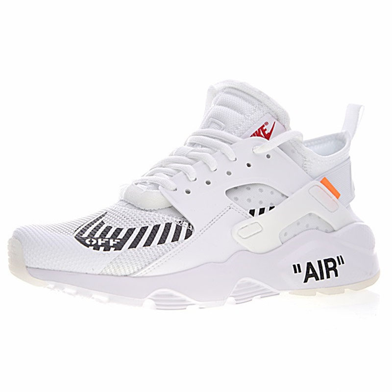 quality design a13ec a5d2c Original New Arrival Authentic Off White X Nike Air Huarache Ultra ID Mens  Running Shoes Sneakers ...