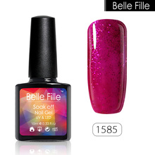 237 Pure Color Gel Nail Polish LED Lamp Gel Lak UV Soak Off Camouflage Nail Art Vernis Semi Permanent Gelpolish Holographic