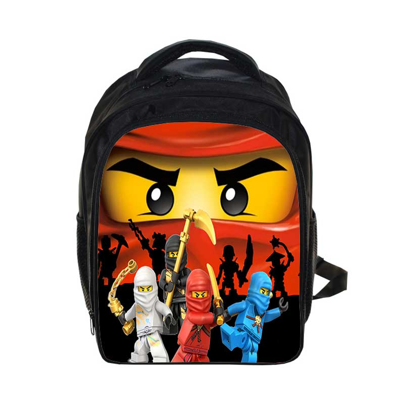 New Lego Backpacks Gifts for Boys Girls Kids Cartoon Movie