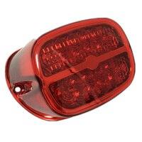Motorcycle LED Brake Tail Light License Plate Lamp For Harley Sportster 883 1200 XL Electra Glide FLHT FLHTCI 1999 UP