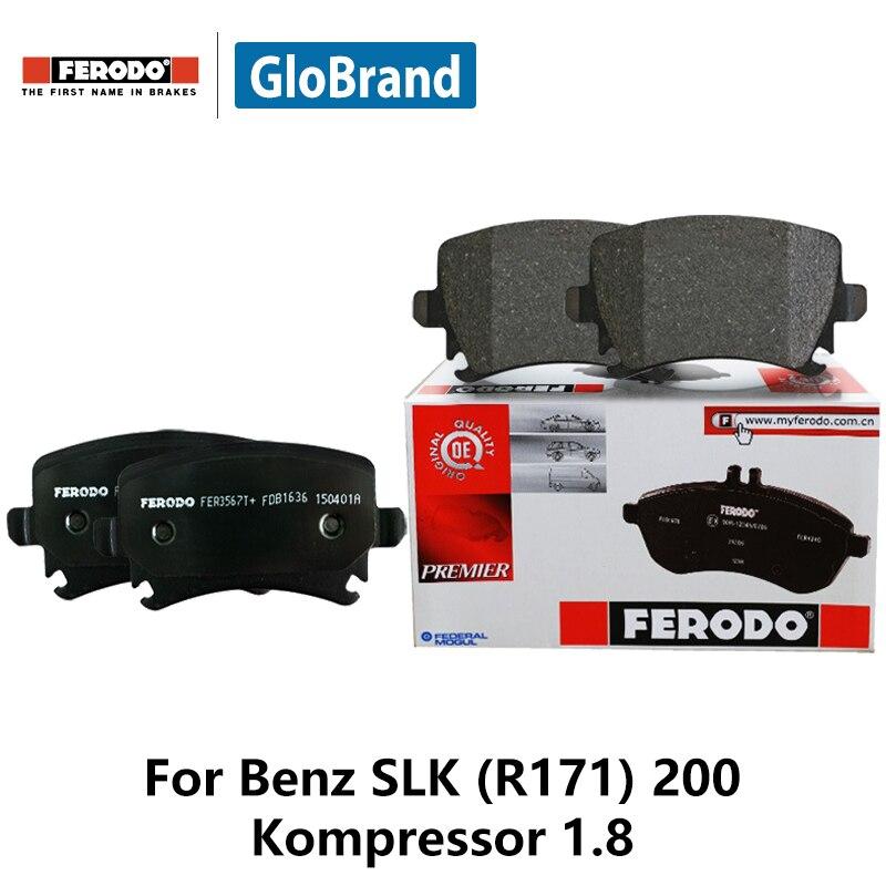 4pieces/set Ferodo Front Car Brake Pads For Benz SLK (R171) 200 Kompressor 1.8 FDB1428