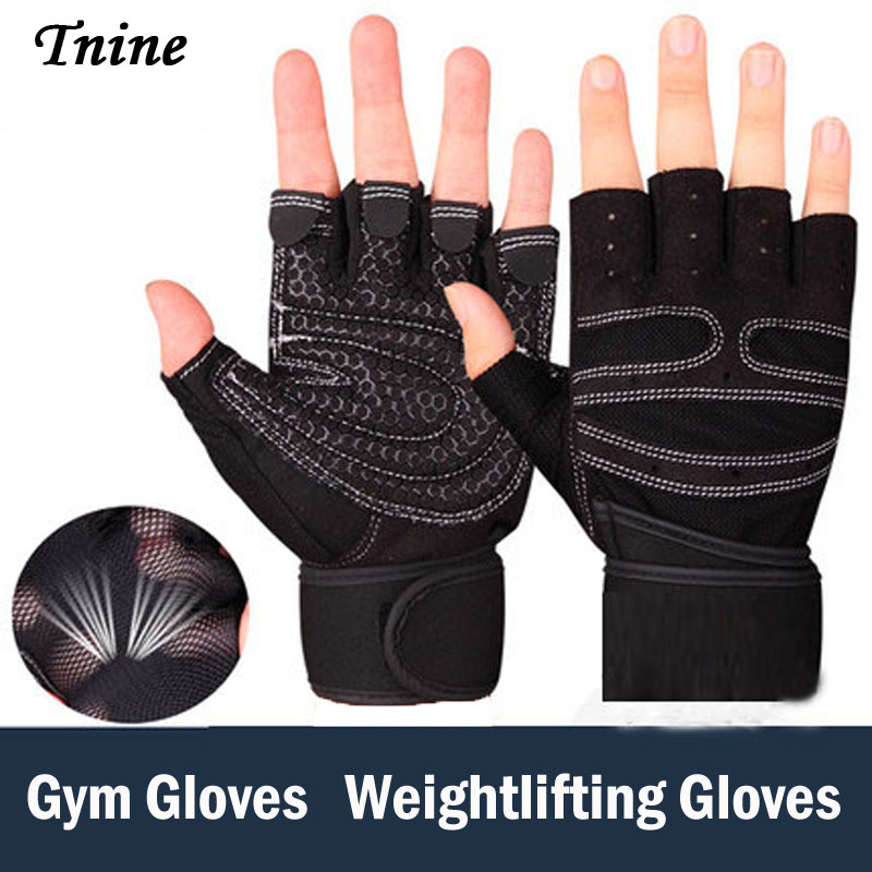 Tnine High Quality Women Gym Gloves Bodys