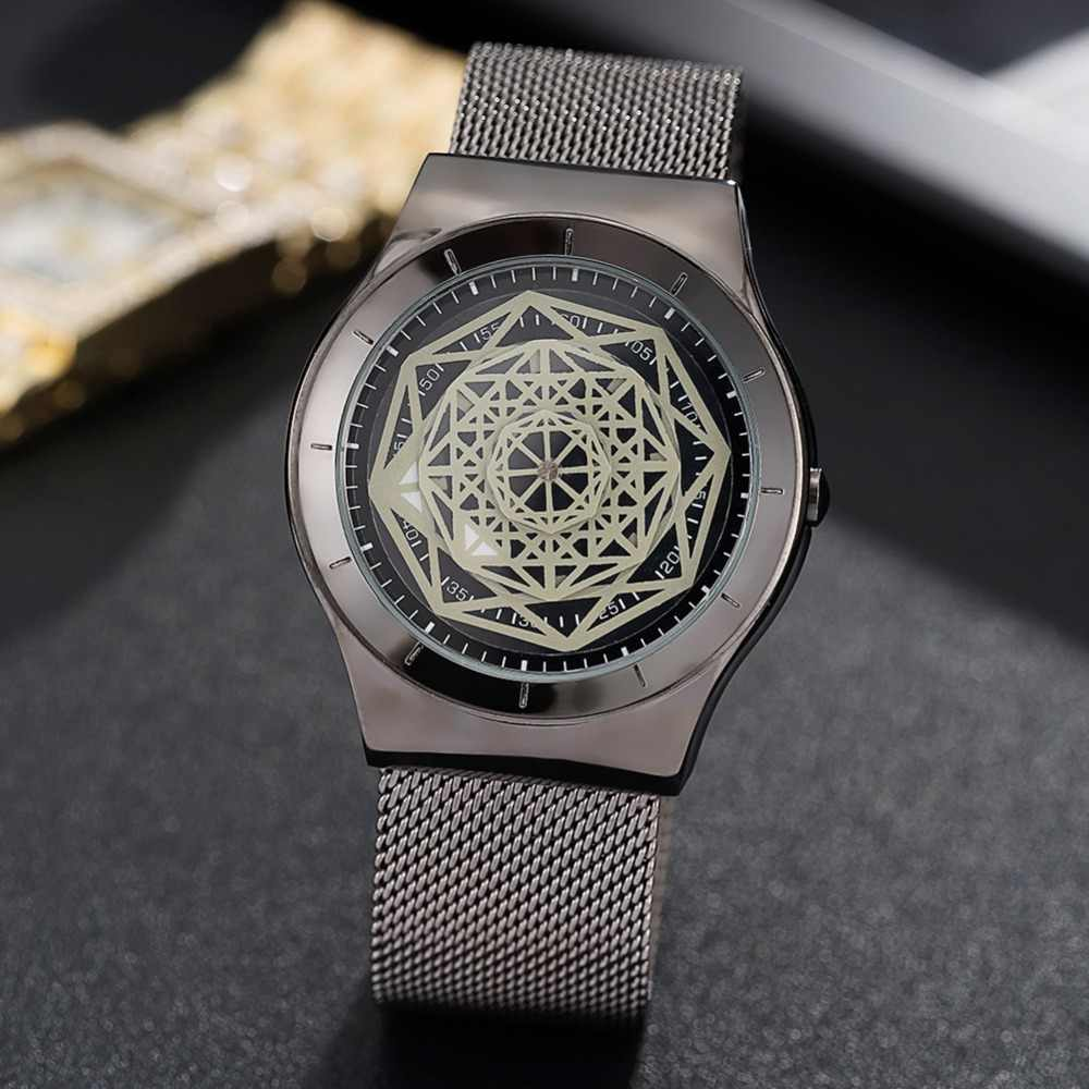 83adc8016609 PAIDU brand wrist watch for man gold black stainless steel fashion  waterproof case male watches