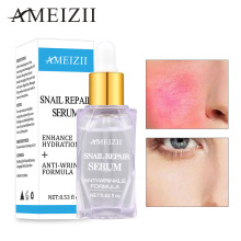 Ameizii Snail Repair Serum Collagen Whitening Skin Essence Hyaluronic Acid Anti-Aging Moisturizing Care Face Cream