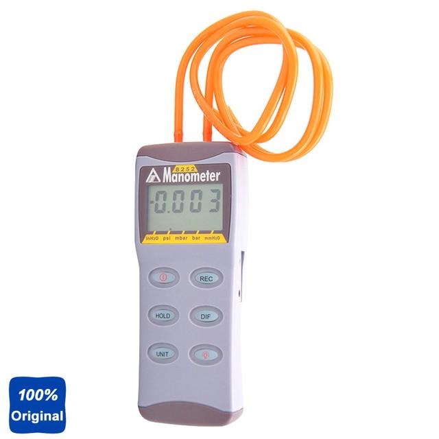 Portable Manometer Measure Digital Differential Pressure Meter AZ-8252