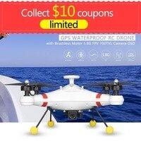 Waterproof Professional Fishing RC Camera Drone pesca Quadcopter Aircraft with 800m range 5.8G FPV 700TVL Camera GPS UAV OSD