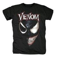Bloodhoof Free shipping Venom Edward Eddie Brock Spider Man Hero Comics Movie cartoon Retro VIntage cotton T Shirt Asian Size