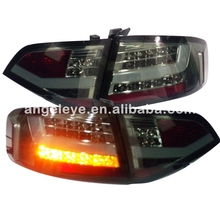 For Audi A4B8 LED Tail Light Rear lamp 2008-2012 year Smoke Black color SN(China)