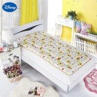 Disney Cartoon Winnie the Pooh Mattress Protection Pad Mattress Topper Bedding Children Adult Bed Berber Fleece Polyester 3 Size
