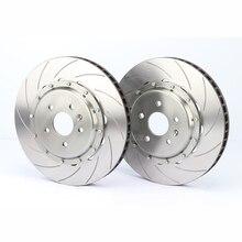 Auto part of brake disc 370*36 for AP racing ap8520 red brake caliper covers kit fit for Jaguar XF 19 RIM