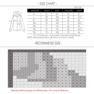Image 5 - BROWON Camiseta de moda para hombre, camiseta con diseño de retales de Color, camisetas de algodón para hombre, camiseta de manga larga con cuello en V para hombre