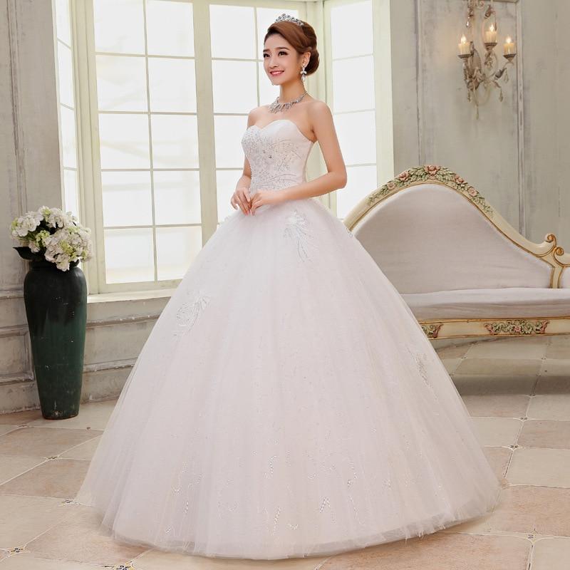 Aliexpress New Sweet Lace Wedding Dress. Bandage Shoulder