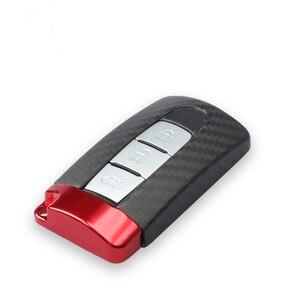 Image 2 - TTCR II Carbon Fiber Smart Afstandsbediening Sleutelhanger Case Bag Key Shell Houder Voor NISSAN R35 GTR G TR 370Z 350Z