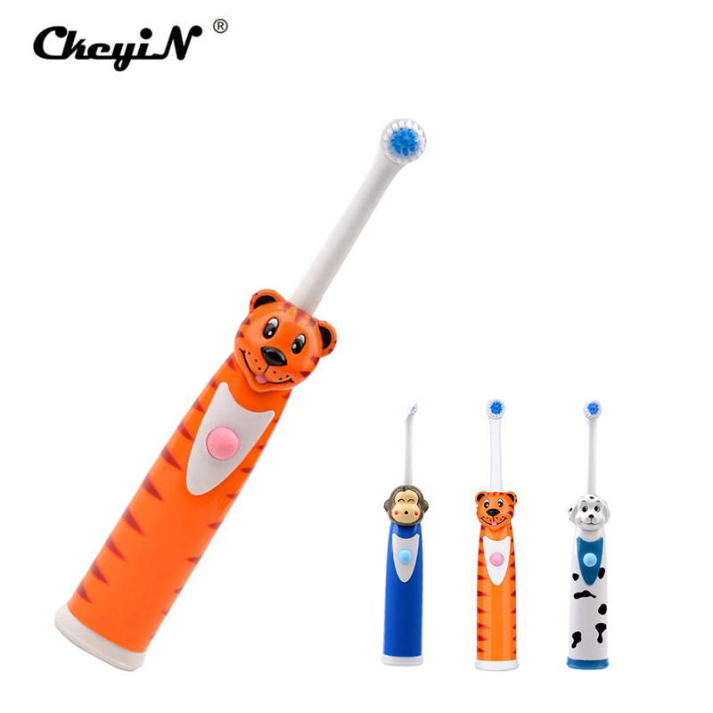 HOT Multi children cartoon pattern electric toothbrush for kids Waterproof Electric Teeth Brush Rotary Toothbrush Teeth Care ultra soft children kids cartoon toothbrush dental health massage 1 replaceable head outdoor travel silicone retractable folding