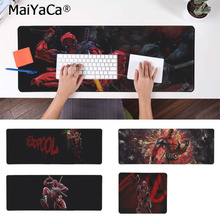 MaiYaCa Vintage Cool Marvel Hero Deadpool Natural Rubber Gaming mousepad Desk Mat Free Shipping Large Mouse Pad Keyboards