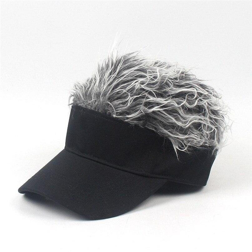 Wig Tennis Cap Parent-child Hat Street Trend Cap Outdoor Shade Wig baseball cap parent-child hat street trend cap #2f20 (7)