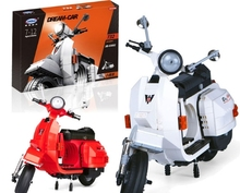 XingBao 03002 Block 732Pcs Genuine Creative Technic Classic Series The Vespa P200 Moto Building Blocks Bricks Toys Model DIYGift