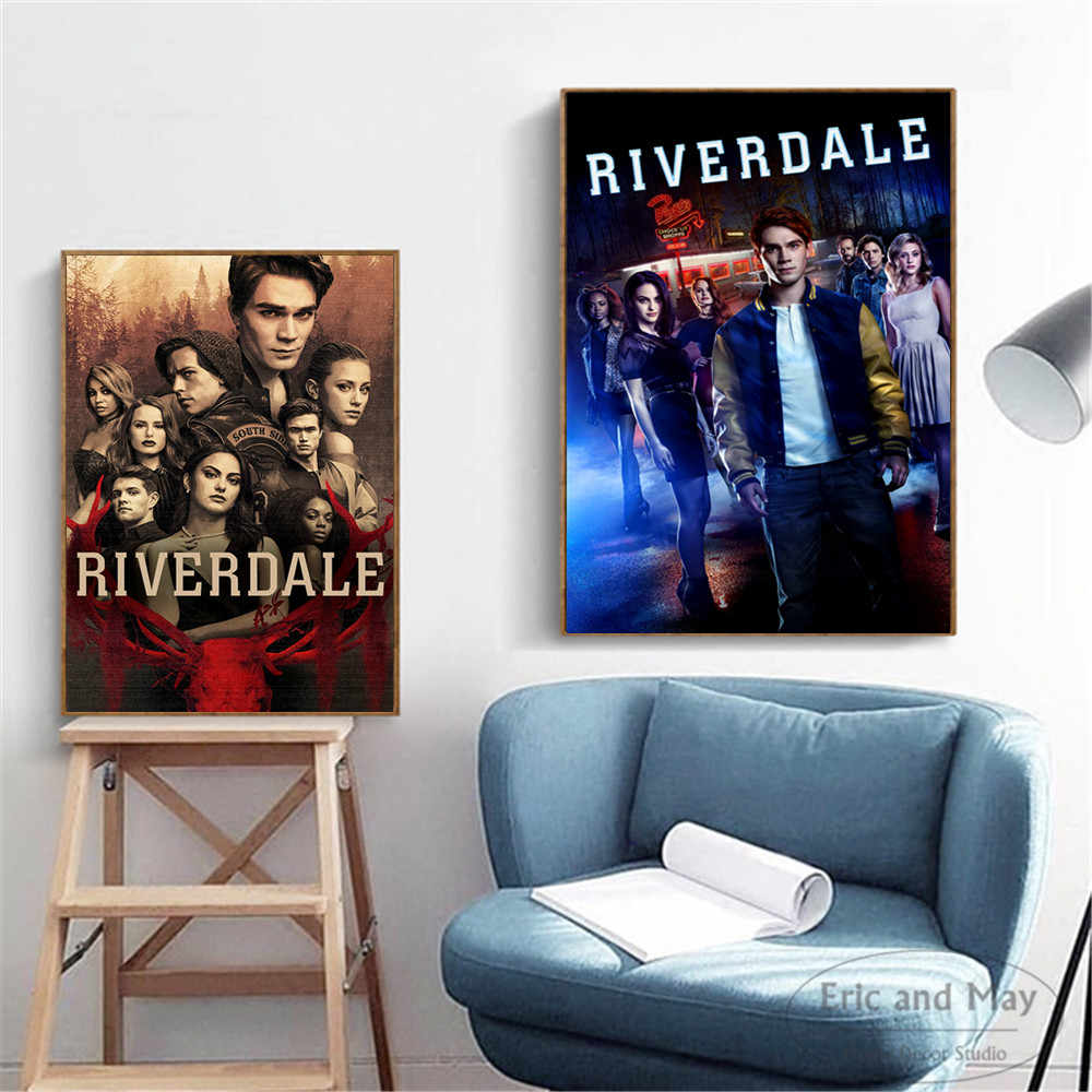 Riverdale Movie TV Series Artwork Wall Pictures Posters Prints Canvas Art Unframed Paintings Decoration Modern Home Decor Cuadro