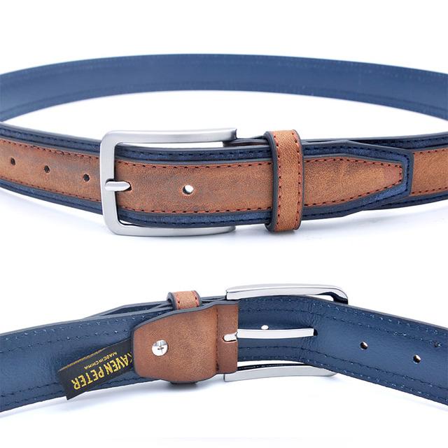 Men's Casual Patchwork Belt in Three Colors