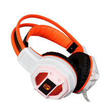 Computer GX1Dazzle Light Gaming Headphone Hifi Stereo Wired Headset Speakers Stereo Bass Earphone with Microphone for PC Gamer