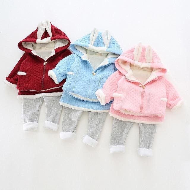 clothing sets plus cashmere kids clothes children clothing baby clothes girls clothing sets 2016 new winter BC-A026B