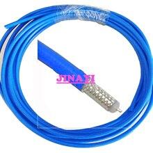Синий красный серебристый 10 м RG-402 RG402 Simi жесткий радиочастотный коаксиальный кабель полугибкий 50 Ом