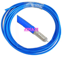 Blue Red Silver 10m RG 402 RG402 Simi Rigid RF coax Coaxial cable Semi Flexible 50ohm