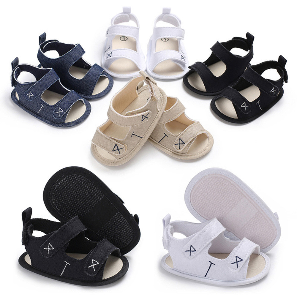 2018 New Fashion Infant Toddler Newborn Baby Boys&Girls Embroidery Soft Sole Anti-slip Shoes High Quality Drop shipping