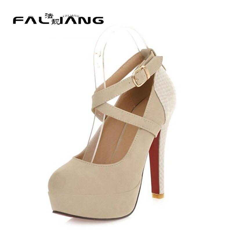 ФОТО Latest design fashion sexy ladies platform pump high-heeled shoes size 34-42