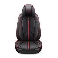 3D Car Seat Cover Leather Cushion Orange Black Red Blue White Seat Cover For Infiniti EX25 FX35/45/50 G35/37 JX35 Q70L QX80/56