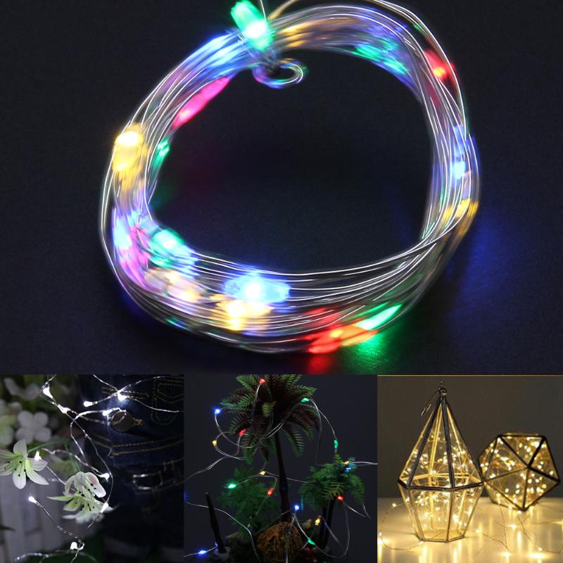 3pcs 2m 20LED Festoon Party Lighting String Lamps Led Christmas Lights Fairy Wedding Garden Pendant Garland Holiday Decor Lights