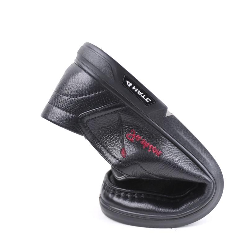 Mocassins De Vache Et En Véritable Hommes Nouvelle brown Cuir Confortable Black Souple 2019 Casual Arrivée Chaussures Printemps 64q7Ow
