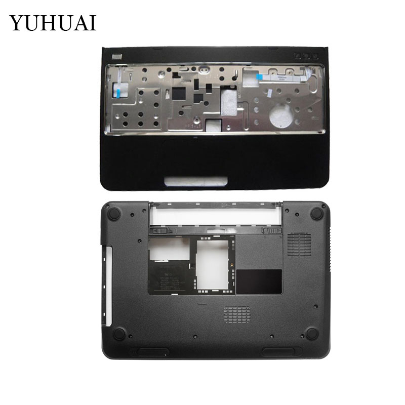 New Bottom Base Case Cover&Palmrest upper case cover for DELL Inspiron 15R N5110 M5110 39D-00ZD-A00 цена