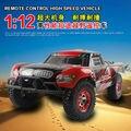 2016 Novo 1/12 rock crawler 4WD Carro de Controle Remoto Elétrico 2.4G Short-Course Truck 4CH 2.4G 40A ESC de Alta Velocidade como Chrismas presente