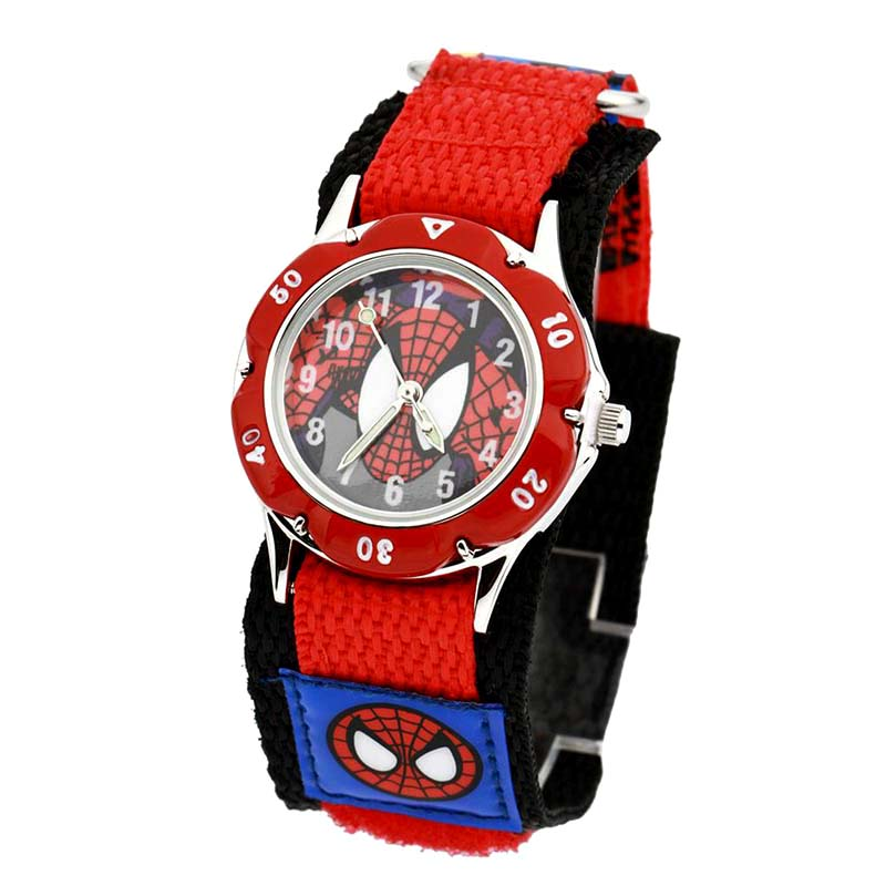 Kids Watch Cartoon Nylon Strap WristWatch Children Luminous Analog Quartz Bracelet Wristwatch Boys Gift Clocks Relogio Zegarek l 10 women s stylish petals style bracelet quartz analog wristwatch golden white 1 x lr626