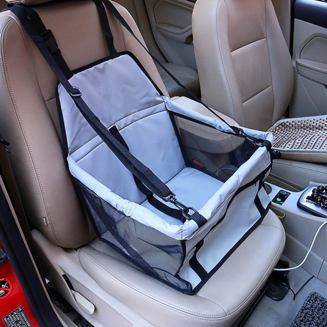 CAWAYI KENNEL PVC Pet Car Seat Bag Carriers Waterproof Folding Hammock Car Mat Seat Cover Dog Carry Storage Bag for Travel D1224 1