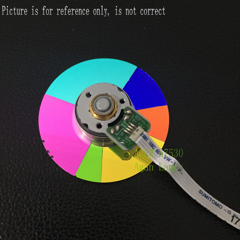 Original Projector Color Wheel for Vivitek D871 wheel color 1PCS vivitek h1185 кинотеатральный проектор white