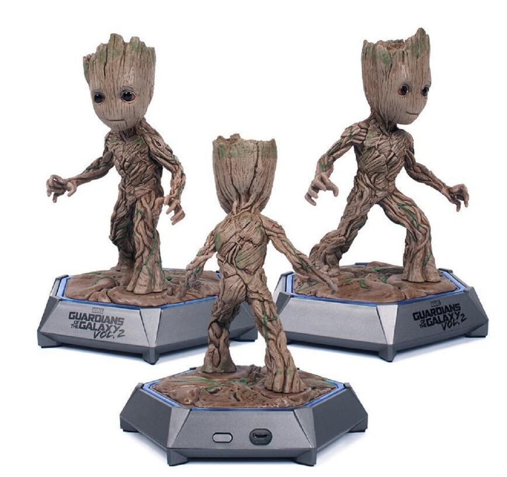 Speaker-Toys Marvel Bluetooth Action-Figure Pvc-Model Audio Tree-Man New for Christmas-Gift