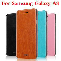 Original Cover High Quality For Samsung Galaxy A8 A8000 Case Leather Case Cover Phone Case Flip