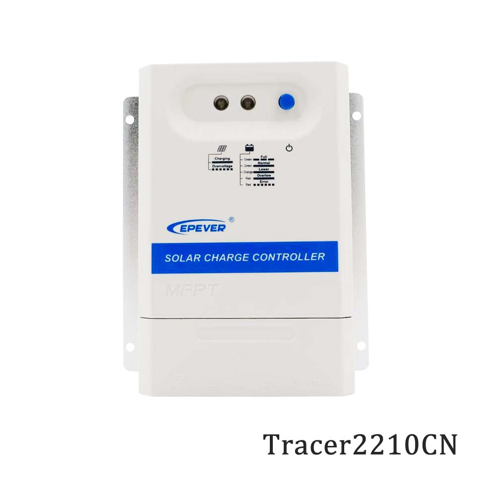 Tracer2210CN 2210CN 20A 12V 24V MPPT Solar Panel Charger Tracer epsolar PV Solar cell Panel Battery Control