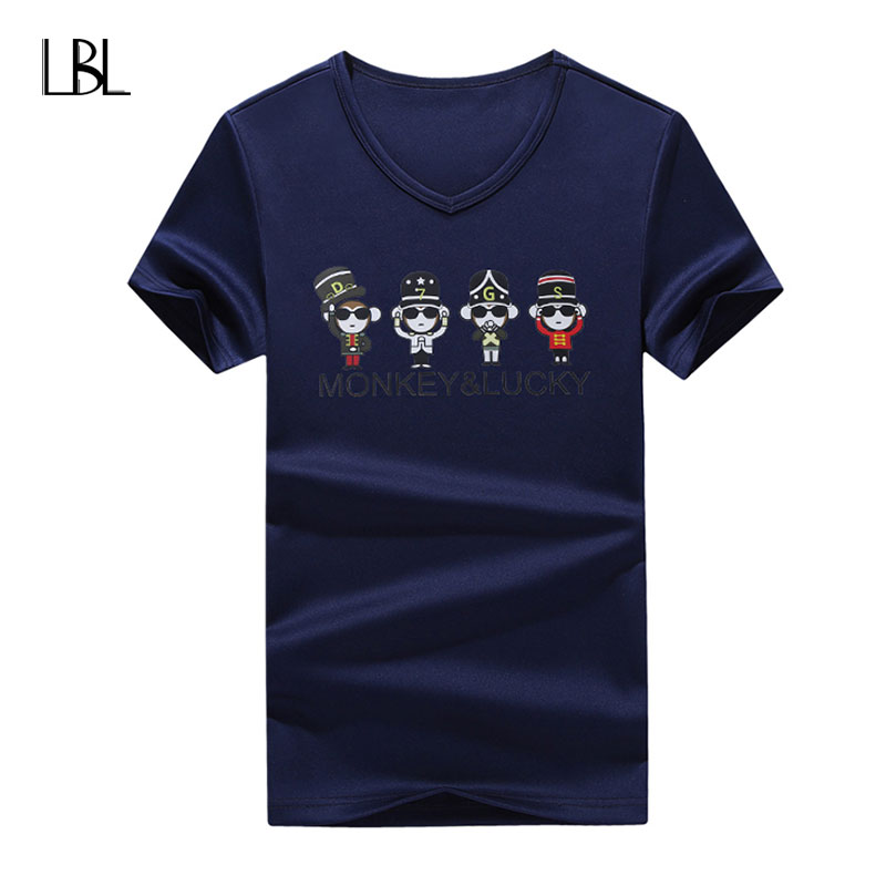 Men Animal T Shirt Fashion Hip Hop Men Tshirts Homme Camisetas Print T Shirt Brand Clothing Men NEW Fitness Summer Top Tee Homme