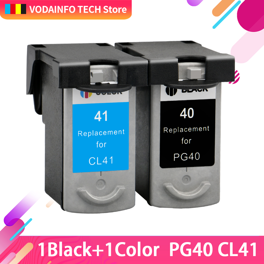 Ink-Cartridge PG40 Mp470-Printer MP210 Canon Pixma CL-41 MP450 Compatible for Mp140/Mp150/Mp160/.. title=