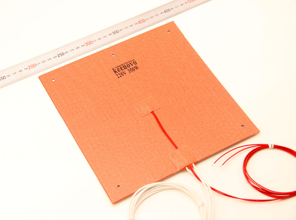 Keenovo Silicone Heater 245X245mm 350W@220V For Ultimaker Clone CL260 3D Printer Heated Bed,Build Plate Heating Element