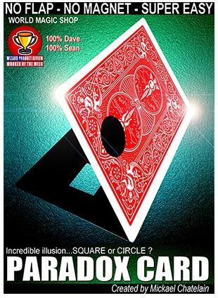 Paradox Card By Mickael Chatelain Magic Tricks