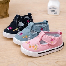 2016 new spring autumn children shoes kids sneakers for baby boys and girls canvas shoes pure candy Insole12.8~16.2cm