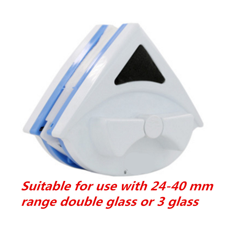 Fenster Glas Cleaner Tool Double Side 24 40mm doppelschicht glas oder 3 schicht glas Magnetische Reinigungsbürste Nützlich Oberfläche pinsel-in Reinigungsbürsten aus Heim und Garten bei  Gruppe 1